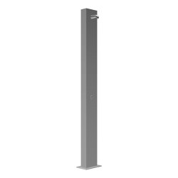 CONFREE freestanding shower, stainless steel, straight | Shower controls | CONTI+