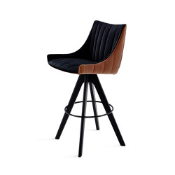 Rubie | Bar Armchair Low | Bar stools | FREIFRAU MANUFAKTUR