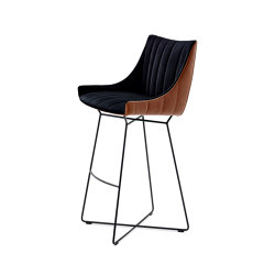 Rubie | Bar Armchair Low | Tabourets de bar | FREIFRAU MANUFAKTUR