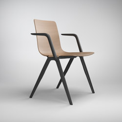 A-Chair 9707/A | Sillas | Brunner