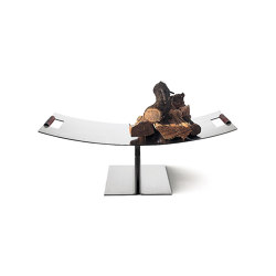 Peter Maly Log Holder | Fireplace accessories | conmoto