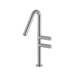 Sense 22 mm two-lever basin mixer 340, one-side | Wash basin taps | CONTI+