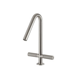 Sense 22 mm two-lever basin mixer 310, both-sides | Wash basin taps | CONTI+