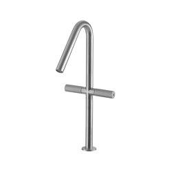 Sense 22 mm two-lever basin mixer 390, both-sides | Wash basin taps | CONTI+