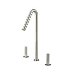 Sense 22 mm basin mixer 390, two separate lever | Wash basin taps | CONTI+
