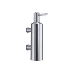 Wall-mounted soap dispenser chrome | Soap dispensers | CONTI+
