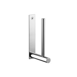 Spare toilet paper holder, chrome | Paper roll holders | CONTI+