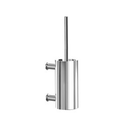 Toilet brush set, chrome | Toilet brush holders | CONTI+
