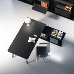 Woods powered by Fenix | Desks | Fantoni