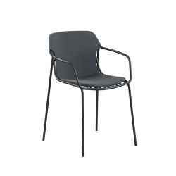 crona steel Chaise 4 pieds | Chaises | Brunner