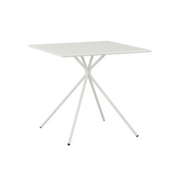 crona steel Tisch | Tables de bistrot | Brunner