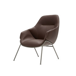 Anita Armchair High Back Rod Base | Sillas | SP01