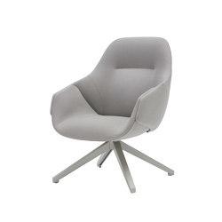 Anita Armchair High Back, Swivel Base, One Colour | Chairs | SP01