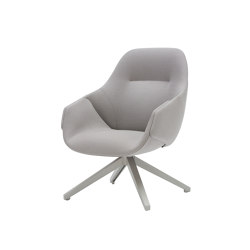Anita Armchair High Back Swivel Base | Chaises | SP01