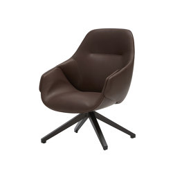 Anita Armchair High Back, Swivel Base, Two Colours | Chairs | SP01