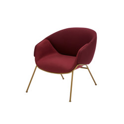 Anita Armchair Low Back Rod Base | Chaises | SP01
