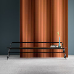 Holland Long Bench with Backrest |  | SP01