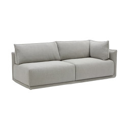 Max 2 Seat Sofa with Corner Cushion | Chaise longues | SP01