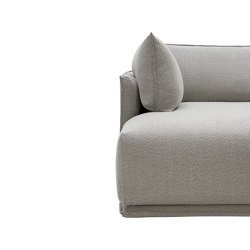 Max 210 Sofa with Corner Back Cushion | Chaise longues | SP01