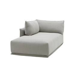 Max Sofa Chaise with Straight Cushion | Chaise longues | SP01