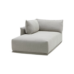 Max Sofa Chaise 180 with Corner Back Cushion | Chaise longues | SP01