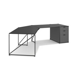 45° Corner Desk #58120 | Desks | System 180