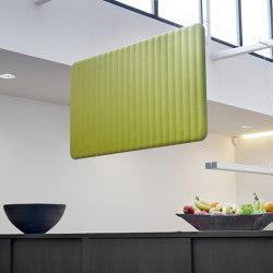 BuzziLoose | Sound absorbing suspended panels | BuzziSpace