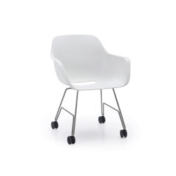 Captain's rolling chair with cushion | Stühle | extremis