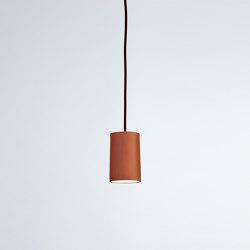 Rigatoni Terracotta | Suspended lights | Hand & Eye Studio