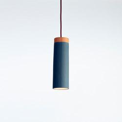 Rigatoni Blue (large) | Suspended lights | Hand & Eye Studio