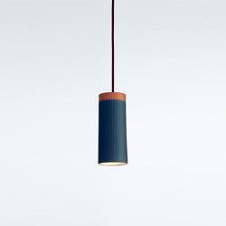 Rigatoni Blue | Suspended lights | Hand & Eye Studio