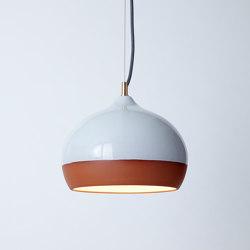 Terracotta Medium (Top Glazed) | Suspended lights | Hand & Eye Studio