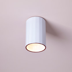 Gooseberry Ceiling (White Glaze) | Ceiling lights | Hand & Eye Studio