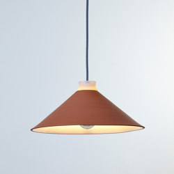 Fuji Terracotta | Suspended lights | Hand & Eye Studio