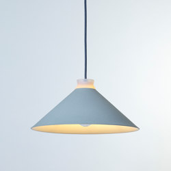 Fuji Colour (Duck Egg) | Suspended lights | Hand & Eye Studio