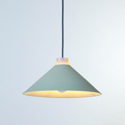 Fuji Colour (Mint) | Suspended lights | Hand & Eye Studio