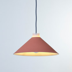 Fuji Colour (Coral) | Suspended lights | Hand & Eye Studio