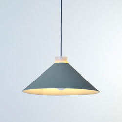 Fuji Colour (Pigeon) | Suspended lights | Hand & Eye Studio