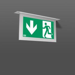 Tenuo® Recessed ceiling luminaires | Symbols / Signs | RZB - Leuchten