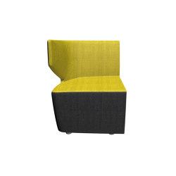 Club-KR/BR-R | Modular seating elements | LD Seating