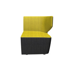 Club-KL/BR-L | Modular seating elements | LD Seating