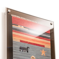 Wall Tapestry Display | Picture hanging systems | Gyford StandOff Systems®