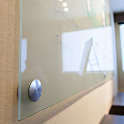 Glass Dry Erase Board Hardware | Glass holders | Gyford StandOff Systems®