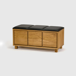 Bench 6, Oak, 90 | Bancos | Scherlin