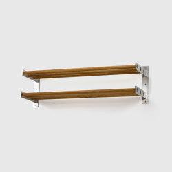 Shoe rack 5, Oak | Shelving | Scherlin