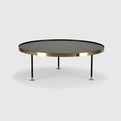 Sofa table 11, Brass | Couchtische | Scherlin