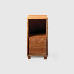 Bedside table 2, Oak | Comodini | Scherlin