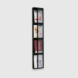 Magazine rack, 4 levels | Shelving | Scherlin
