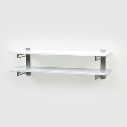 Shoe rack 7, White | Shelving | Scherlin