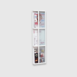 Magazine rack, 3 levels | Shelving | Scherlin